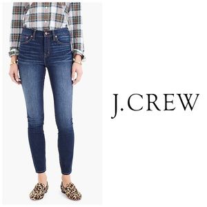 """J Crew 9"""" High Rise Toothpick Jeans 👖Size 29T"""